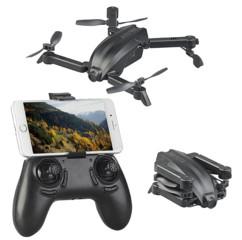 micro drone quadricoptère pliable avec caméra HD 720p et wifi pour images live simulus GH-25