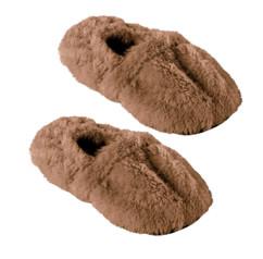 Pantoufles chauffantes à graines de lin - 42/44