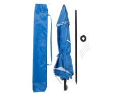 Parasol Ø 160 cm UV 50+ avec protections latérales