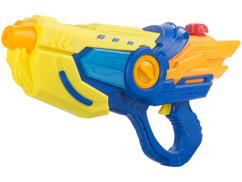 Pistolet à eau motorisé lumineux avec réservoir de 600 ml.