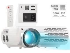 Projecteur vidéo LCD/LED Full HD 3000lm avec lecteur multimédia
