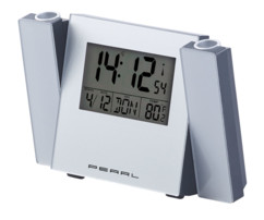 reveil numerique avec double projection au plafond heure et temperature avec radio pilotage dac670