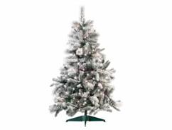Sapin de Noël enneigé à 517 branches, 300 LED, 180 cm