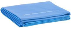 serviette bleue en microfibre 180 x 90 cm pour piscine plage et salle de bains
