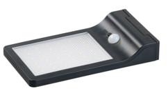 Spot mural solaire à LED avec détecteur de mouvement et fonction veilleuse 350 lm