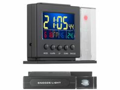 station météo avec écran couleur et hologrammes pour prevision de la météo infactory