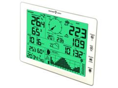 Station météo professionnelle d'extérieur avec écran XXL : FWS-1000