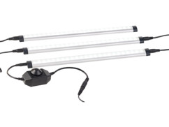Système de 3 réglettes LED 720 lm / 9 W à intensité variable