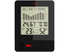 Thermomètre-hyromètre 2 en 1.