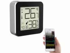 Thermomètre-hygromètre connecté