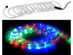 Tube LED pour intérieur et extérieur - 10 m - RVB