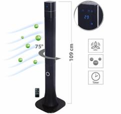 Ventilateur colonne VT-380 par Sichler Haushaltsgeräte.