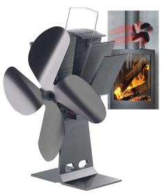 Ventilateur-répartiteur thermoélectrique pour poêle
