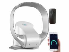 Ventilateur connecté VT-365.app compatible avec Amazon ALexa, Google Home et Siri.