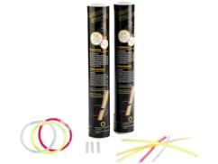 100 bâtons / bracelets lumineux - 5 couleurs