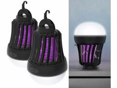 2 pièges à insecte et lanterne de camping