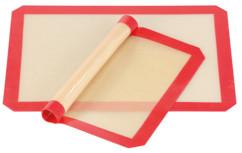 2tapis de cuisson antiadhésifs en silicone sans BPA