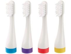 4 têtes de brossage pour brosse à dents sonique SZB-281 (4 coloris)