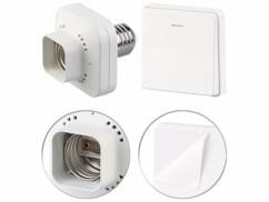 Adaptateur de douille E27 / 60 W & interrupteur cinétique grand modèle KFS-100.L