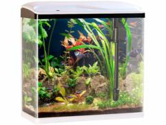 Aquarium Nano de SweetyPet avec 40 L de volume, éclairage LED et filtre lavable.