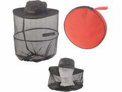 Chapeau pliable compact avec moustiquaire intégrée, maille 300