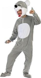 Costume de Souris en fourrure synthétique