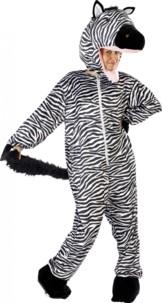 Costume de Zèbre en fourrure synthétique