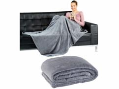 Couverture douce et légère lavable en machine idéal pour rester au chaud couché dans son canapé