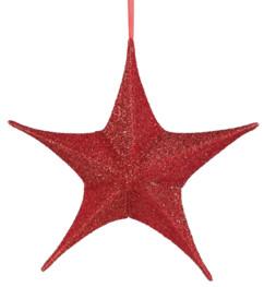 Étoile de Noël pliable Ø 40 cm