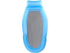 hamac gonflable pour piscine avec coussin intégré