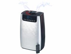 Humidificateur d'air à ultrasons avec diffuseur de parfum, ioniseur et lumière UV LBF-600