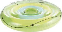 Ilot gonflable pour piscine avec compartiment à boissons