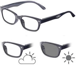 Lunettes de lecture avec verres à teinte variable et protection UV 400, 0 dpt