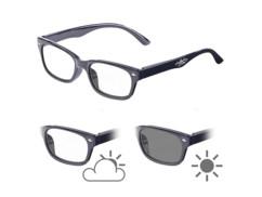 Lunettes de lecture avec verres à teinte variable et protection UV 400, +3.0 dpt