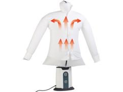 mannequin pour séchage rapide habits air chaud froid et defroissage rapide chemises sichler
