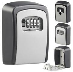 coffre a clés mural avec code 4 chiffre boitier aluminium fixation murale en extérieur xcase
