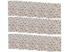 """15 mosaïques autocollantes pour carrelage """"Bronze"""""""