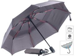 parapluie ultra résistant en teflon pour sechage rapide et résistance vents puissants