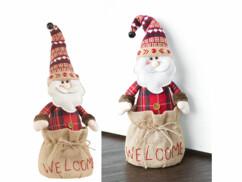 """Cale-porte Père Noël  décoratif """"Welcome"""""""