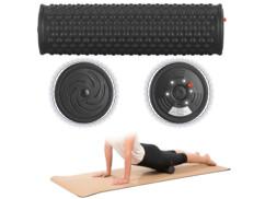 Rouleau de massage vibrant Ø 8,5cm à 5niveaux de vibration