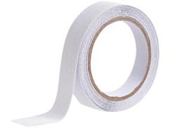 Ruban adhésif antidérapant & résistant à l'eau 4m - Transparent - Ø 24mm