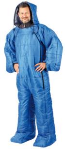 sac de couchage pour adulte avec bras et jambe 180 cm semptec