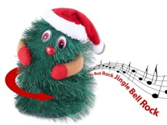 Sapin de Noël chantant et dansant ''SwingingXmasTree'' 16 cm