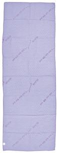 serviette de sport hyper absorbante 1,83 cm violet avec picots anti dérapants idéal salle musculation fitness yoga