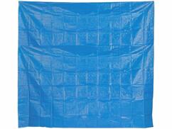 Tapis de sol de 275 x 275 cm pour piscine gonflable.