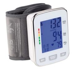 Tensiomètre-bracelet électronique à 2 x 60 emplacements de mémorisation