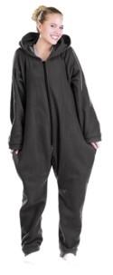 Tenue d'intérieur en textile polaire - noir - taille L