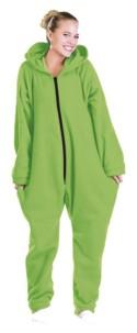 Tenue d'intérieur en textile polaire - Vert - taille L