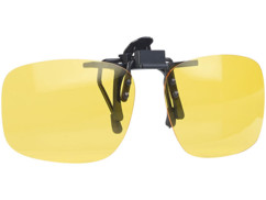 surlunettes a clipser avec protection contre rayons uv40 uva uvb uvc pour conduite