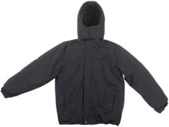 veste d'hiver avec pads chauffants et capuche amovible couleur noir intérieur polaire taille XL pour homme